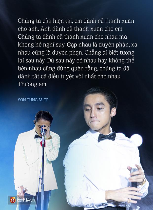 Không ngại lùm xùm, Sơn Tùng M-TP vẫn để Hải Tú xuất hiện cùng mình trên sân khấu khi nói thương em và rồi unfollow Thiều Bảo Trâm - ảnh 2