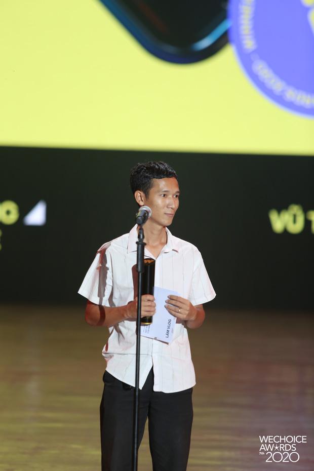 Lâm Vlog: Giải thưởng WeChoice có giá trị tinh thần rất lớn, nó như một món quà fans tặng mình - ảnh 4