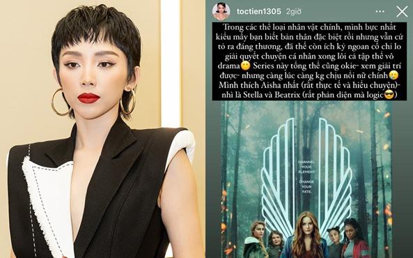 """Tóc Tiên review phim mà như """"cà khịa"""" đẳng cấp, trúng cả drama """"trà xanh"""" của Sơn Tùng lẫn lùm xùm Trạng Tí"""