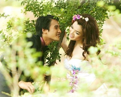 Trân Đài bị đào mộ loạt ảnh cưới với Lương Thế Thành: Nhan sắc năm 18 tuổi có khác so với bây giờ? - ảnh 9