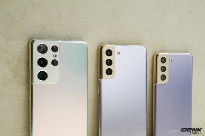 Mở hộp bộ ba Galaxy S21: Từ hộp đến máy mọi thứ đều mỏng gọn, S21 Ultra có màu Bạc Ngẫu Hứng rất đẹp - ảnh 15