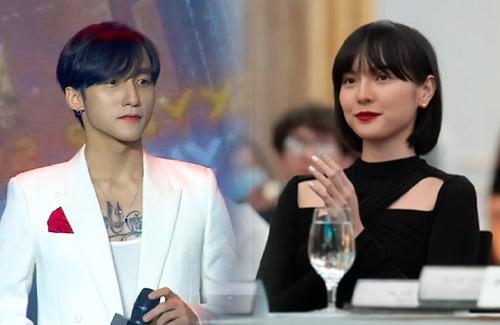 """Sơn Tùng khoe visual đỉnh cao tại họp báo, netizen lại rần rần vì nhận ra """"sếp"""" ngày càng giống Hải Tú? - ảnh 1"""