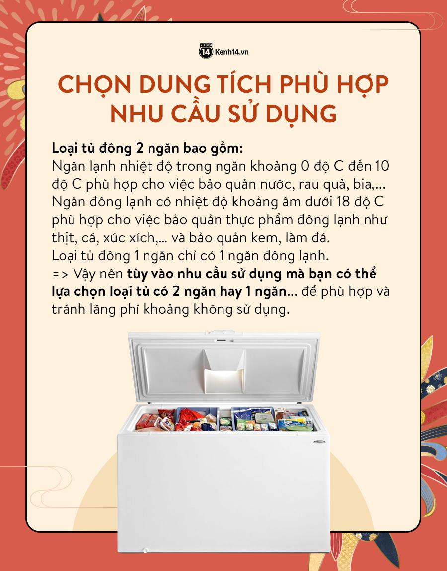 Góc chị em low-tech: Kinh nghiệm mua tủ đông dự trữ thực phẩm cho ngày Tết - Ảnh 2.