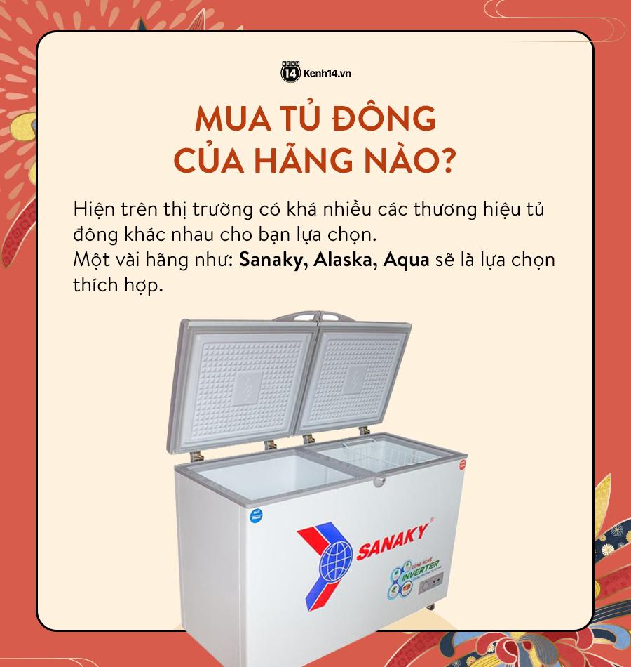 Góc chị em low-tech: Kinh nghiệm mua tủ đông dự trữ thực phẩm cho ngày Tết - Ảnh 5.