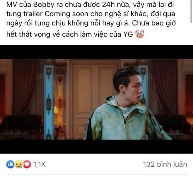Fan iKON phẫn nộ khi YG tung teaser của Rosé cùng ngày comeback của Bobby, fan BLACKPINK lập tức phản bác - ảnh 1