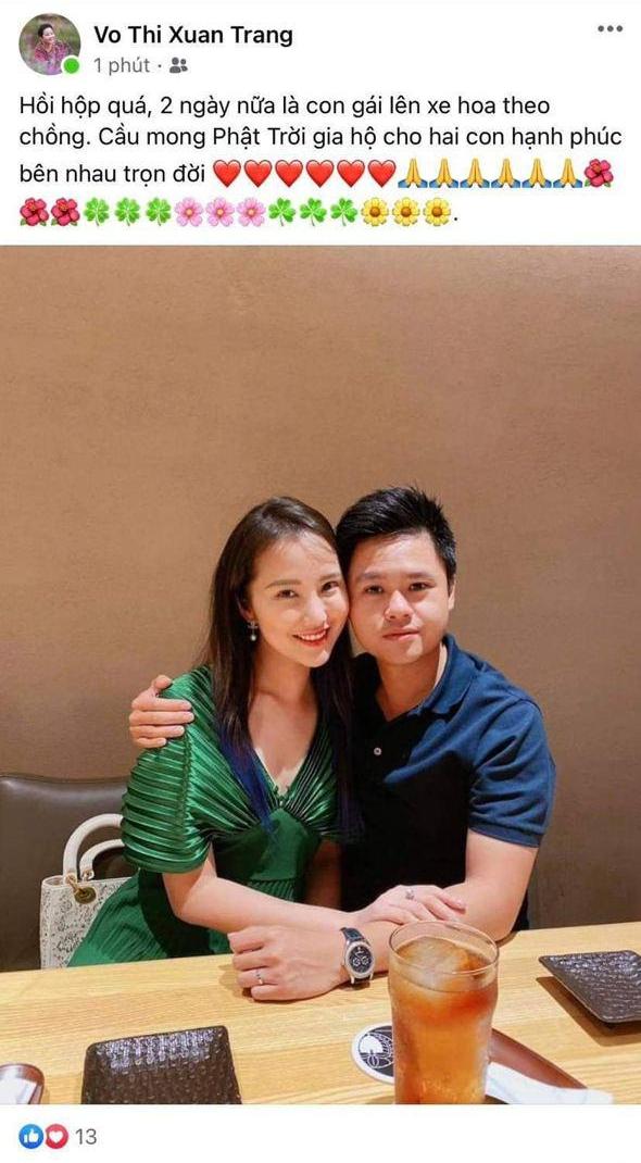 Mẹ vợ Phan Thành vô tình để lộ ngày diễn ra siêu đám cưới và mối quan hệ với con rể thiếu gia - ảnh 1