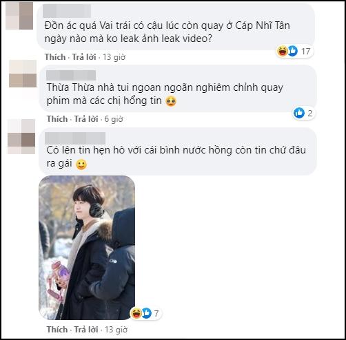 Bị đồn dẫn bạn gái lên phim trường đam mỹ, em trai Phạm Băng Băng lập tức đáp trả trấn an fan - Ảnh 7.