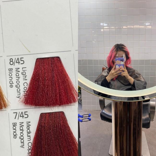 Đi nhuộm tóc giá 3,5 triệu tại một Salon có tiếng, cô nàng này nhận lại được mái tóc xơ nhũn và sự ức chế vô cùng - Ảnh 1.
