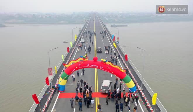 Thông xe cầu Thăng Long trở lại sau 4 tháng sửa chữa - Ảnh 1.