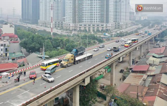 Thông xe cầu Thăng Long trở lại sau 4 tháng sửa chữa - Ảnh 10.