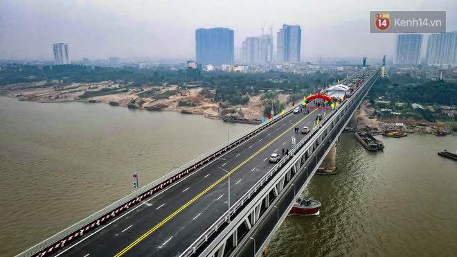 Thông xe cầu Thăng Long trở lại sau 4 tháng sửa chữa - Ảnh 2.