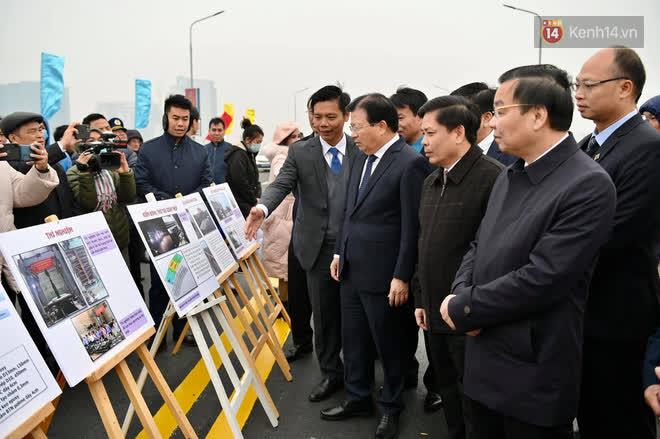 Thông xe cầu Thăng Long trở lại sau 4 tháng sửa chữa - Ảnh 5.
