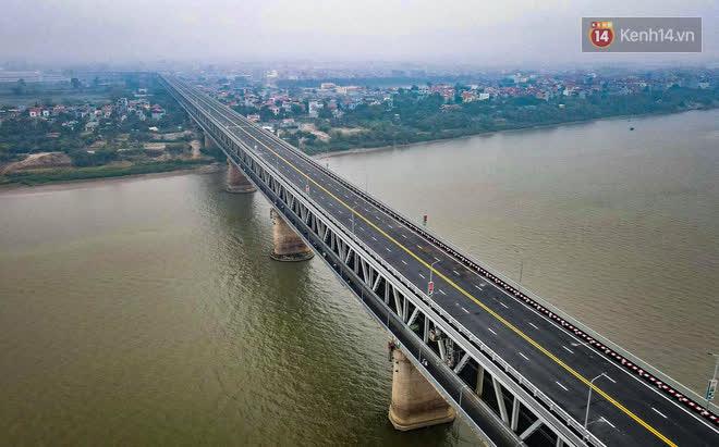 Thông xe cầu Thăng Long trở lại sau 4 tháng sửa chữa - Ảnh 6.