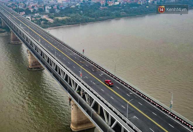Thông xe cầu Thăng Long trở lại sau 4 tháng sửa chữa - Ảnh 7.