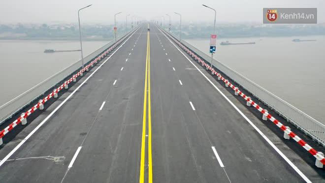 Thông xe cầu Thăng Long trở lại sau 4 tháng sửa chữa - Ảnh 8.