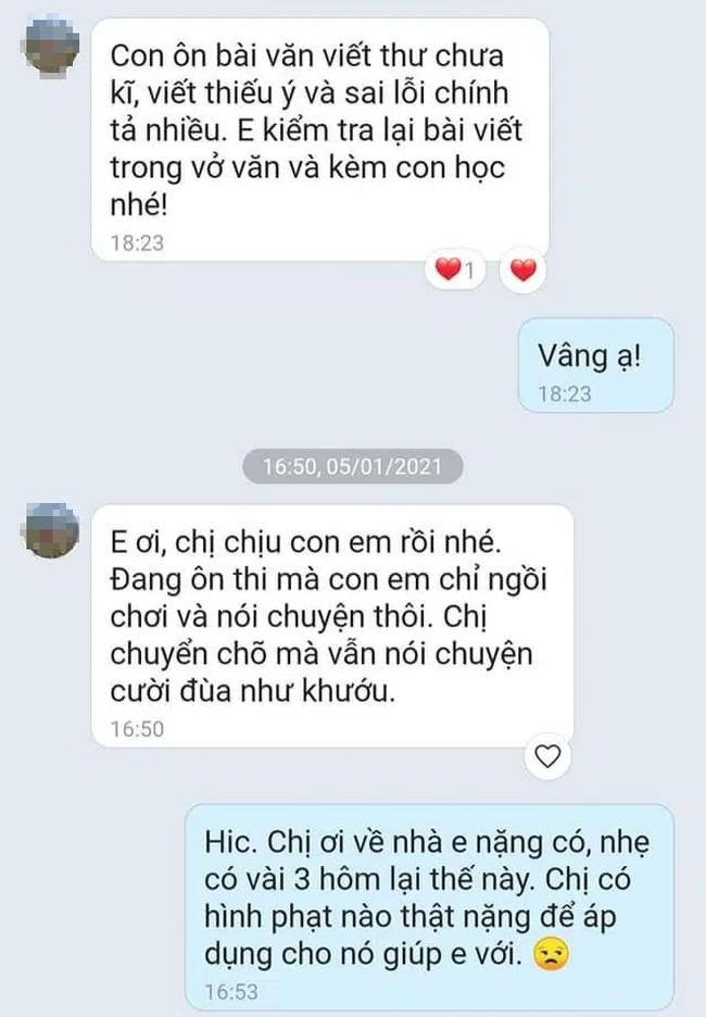 Mẹ đăng đàn xin ý kiến dạy con hay viết sai lại nói chuyện nhiều, nhưng bất ngờ gây tranh cãi với tin nhắn đính kèm của cô giáo - Ảnh 2.