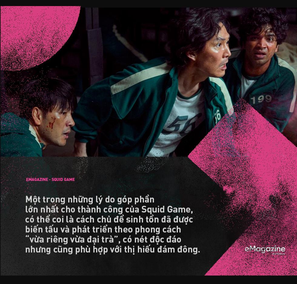 Squid Game - cuộc chiến máu bọc đường thành hiện tượng toàn cầu và tham vọng đổi mới bộ mặt phim Hàn của Netflix - Ảnh 3.