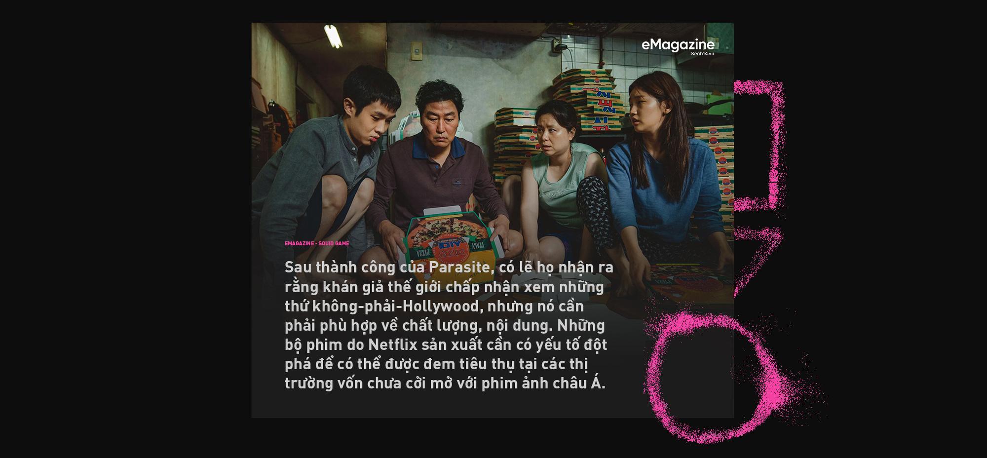 Squid Game - cuộc chiến máu bọc đường thành hiện tượng toàn cầu và tham vọng đổi mới bộ mặt phim Hàn của Netflix - Ảnh 12.