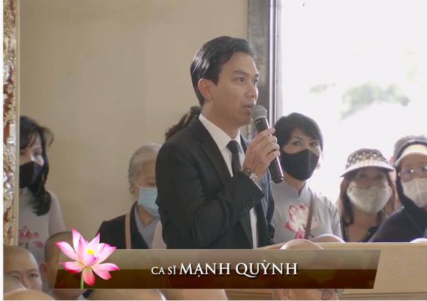 Netizen chú ý hình ảnh vòng hoa Mạnh Quỳnh gửi viếng Phi Nhung tại tang lễ ở Mỹ, chỉ 2 chữ nghe mà xót xa - Ảnh 2.