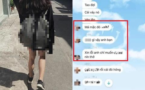 """SỐC: Lộ tin nhắn nhóm nam sinh cấp 3 đòi đứng ở cầu thang chờ nữ sinh mặc váy """"lộ hàng"""", còn đặt camera quay lén nạn nhân?"""