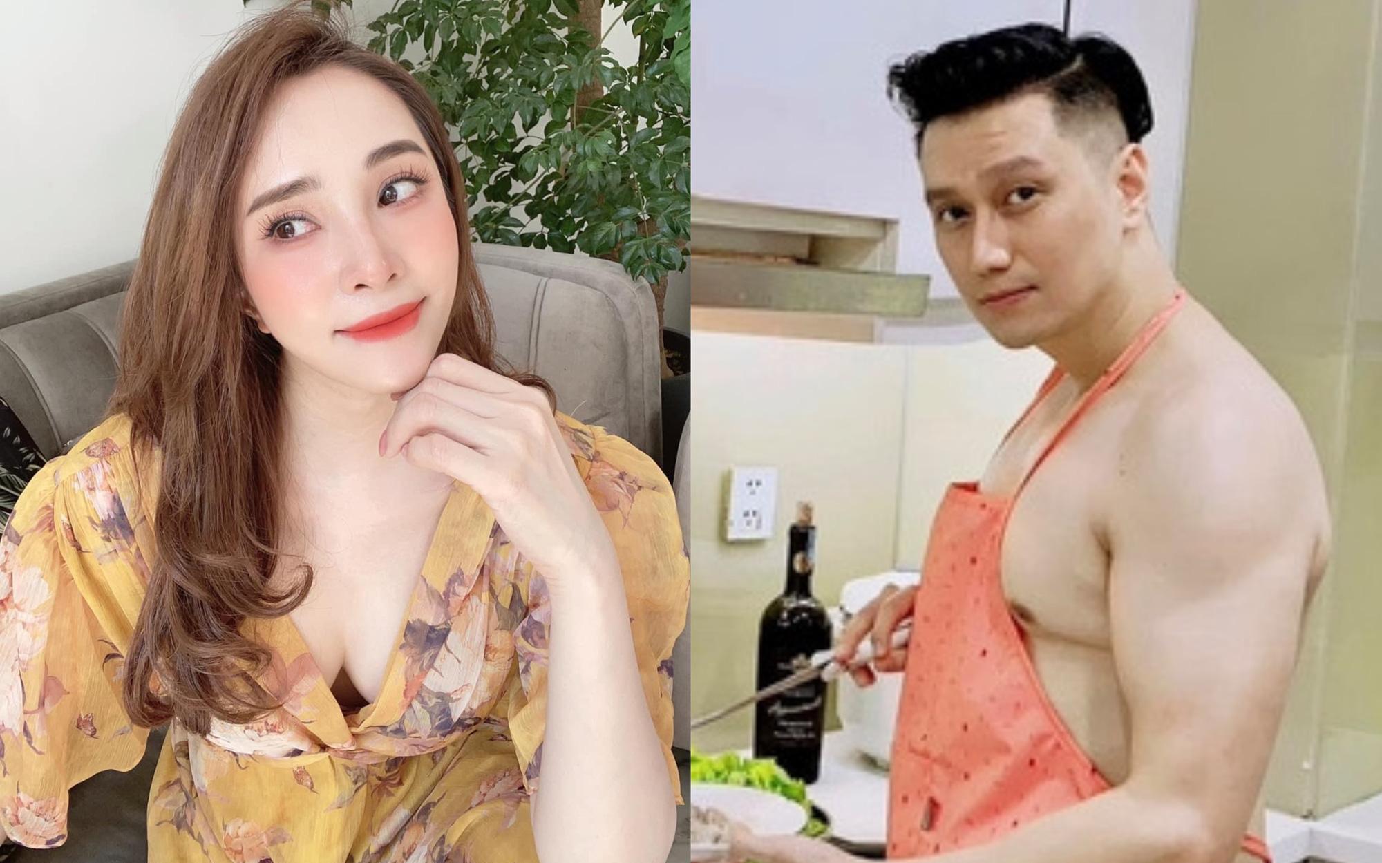 """Quỳnh Nga lộ khe ngực sexy, đòi nắm tay ai đó ngày cuối tuần, Việt Anh """"chốt hạ"""" câu gì mà netizen đồng loạt thả """"haha""""?"""