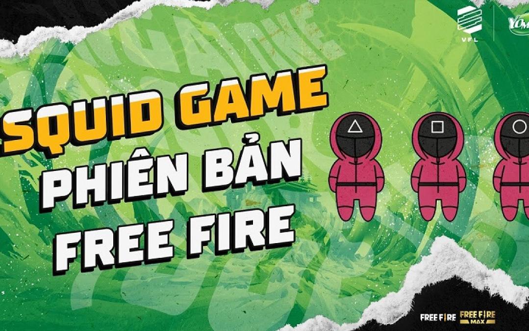 Bắt trend nhanh như Free Fire, chế độ chơi mới lấy cảm hứng từ Squid Game sắp sửa được ra mắt