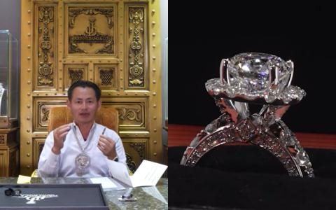 """Một nữ đại gia Việt bí ẩn sang Mỹ đặt """"tỷ phú kim cương"""" Johnny Đặng làm một viên kim cương 4 carat cực hiếm"""