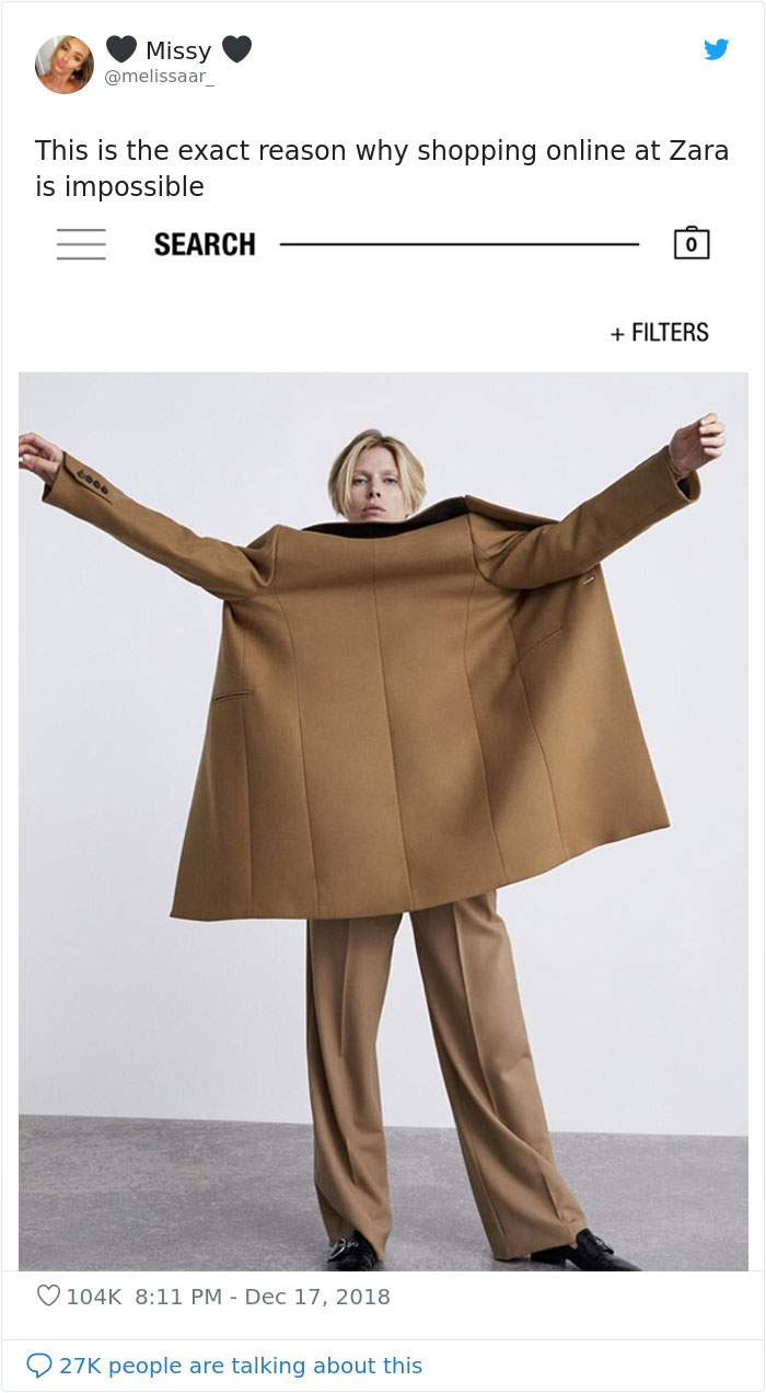 Đây chính xác là lý do tại sao mua hàng online ở Zara là điều bất khả thi - Ảnh 4.