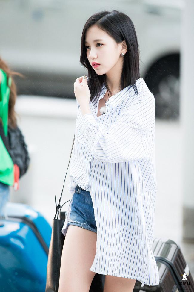 Quả đúng là tiểu thư gia thế khủng, Mina (TWICE) mặc toàn đồ đơn giản cũng tỏa khí chất lá ngọc cành vàng nhìn mà mê  - Ảnh 9.
