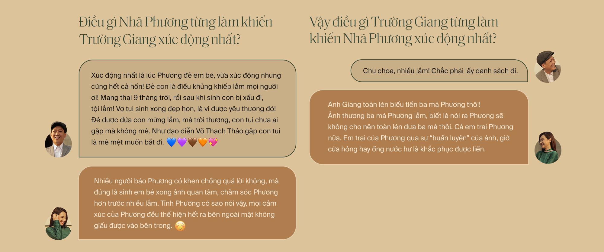 """Lần đầu tiên kể từ khi yêu nhau, Trường Giang - Nhã Phương cùng trả lời phỏng vấn: """"Vợ tui sướng nhất quận Phú Nhuận luôn"""" - Ảnh 29."""