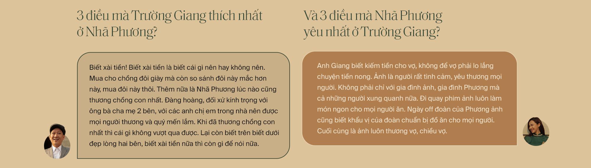 """Lần đầu tiên kể từ khi yêu nhau, Trường Giang - Nhã Phương cùng trả lời phỏng vấn: """"Vợ tui sướng nhất quận Phú Nhuận luôn"""" - Ảnh 32."""