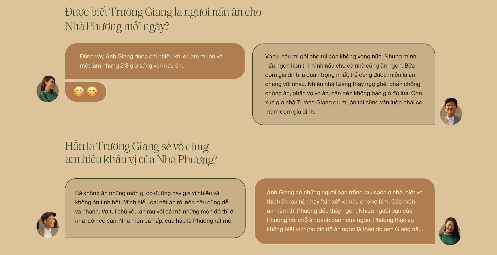 """Lần đầu tiên kể từ khi yêu nhau, Trường Giang - Nhã Phương cùng trả lời phỏng vấn: """"Vợ tui sướng nhất quận Phú Nhuận luôn"""" - Ảnh 11."""