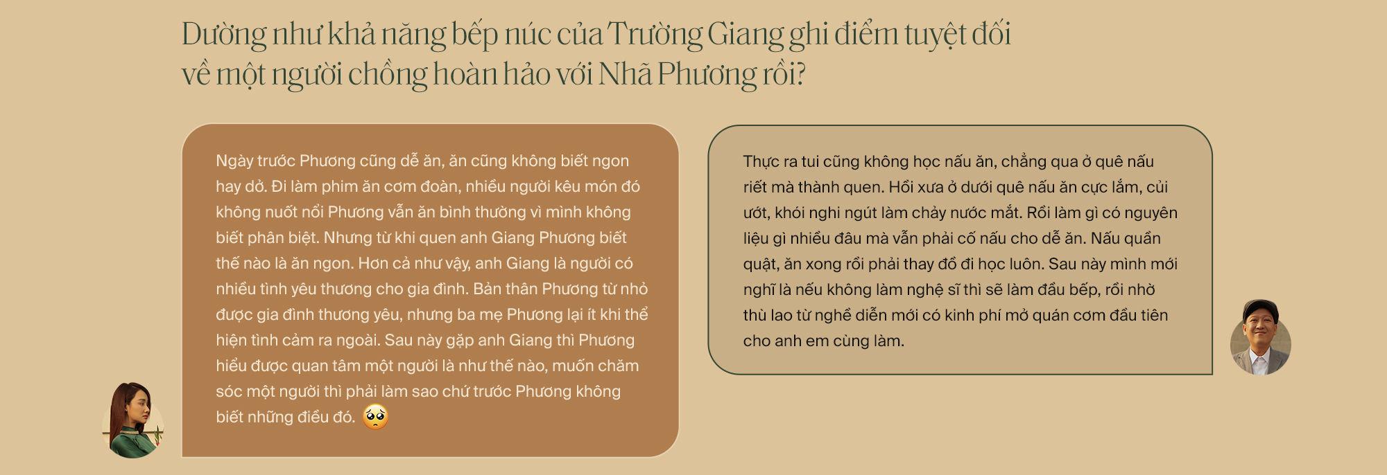 """Lần đầu tiên kể từ khi yêu nhau, Trường Giang - Nhã Phương cùng trả lời phỏng vấn: """"Vợ tui sướng nhất quận Phú Nhuận luôn"""" - Ảnh 15."""