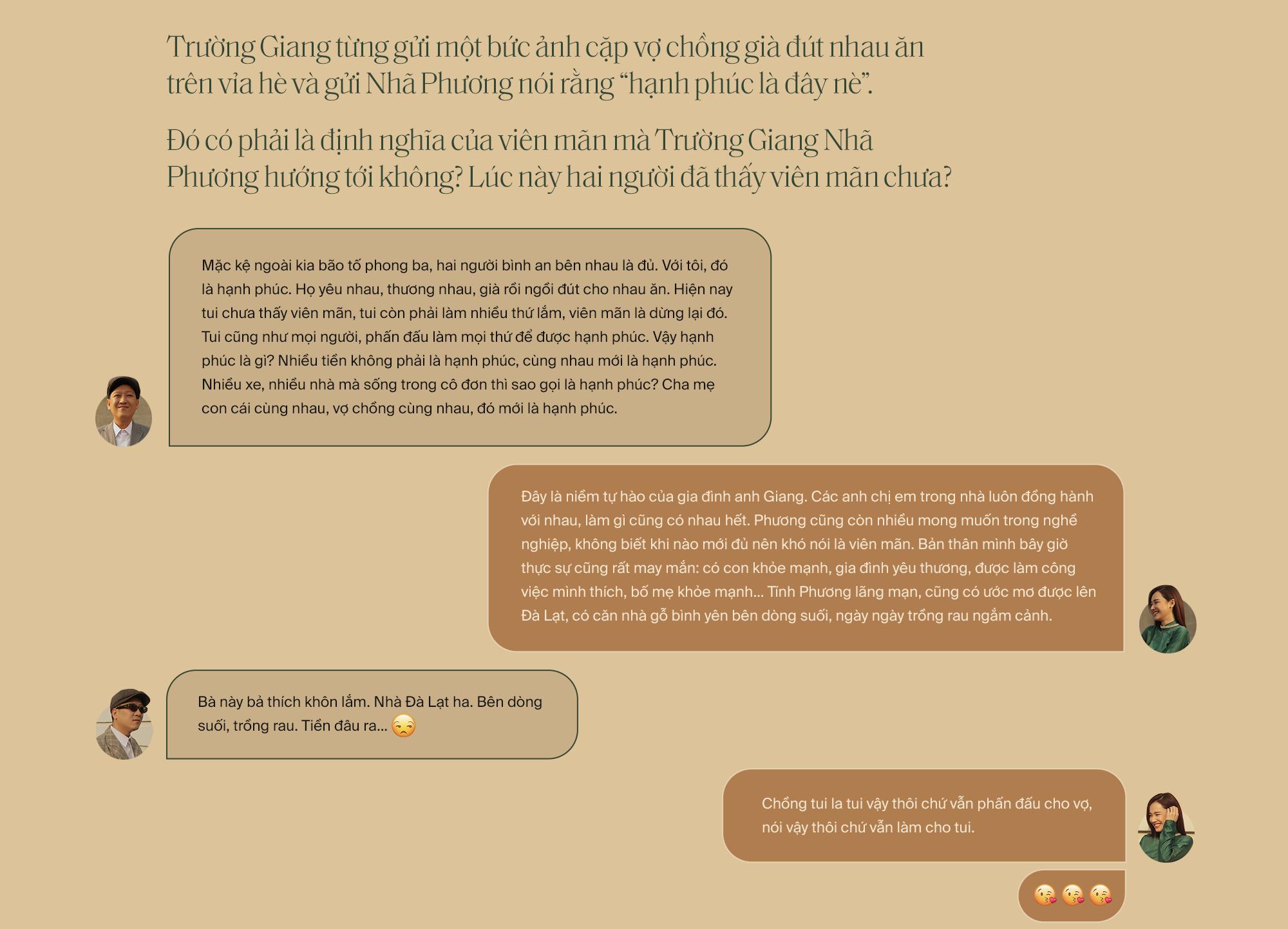 """Lần đầu tiên kể từ khi yêu nhau, Trường Giang - Nhã Phương cùng trả lời phỏng vấn: """"Vợ tui sướng nhất quận Phú Nhuận luôn"""" - Ảnh 31."""
