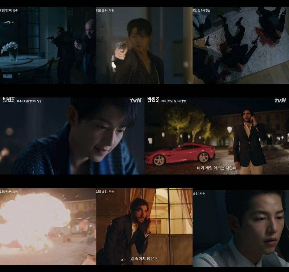 Giải mã sức hút Vincenzo: Song Joong Ki đẹp rụng rời, bối cảnh sang xịn mịn xem mà mê - Ảnh 7.