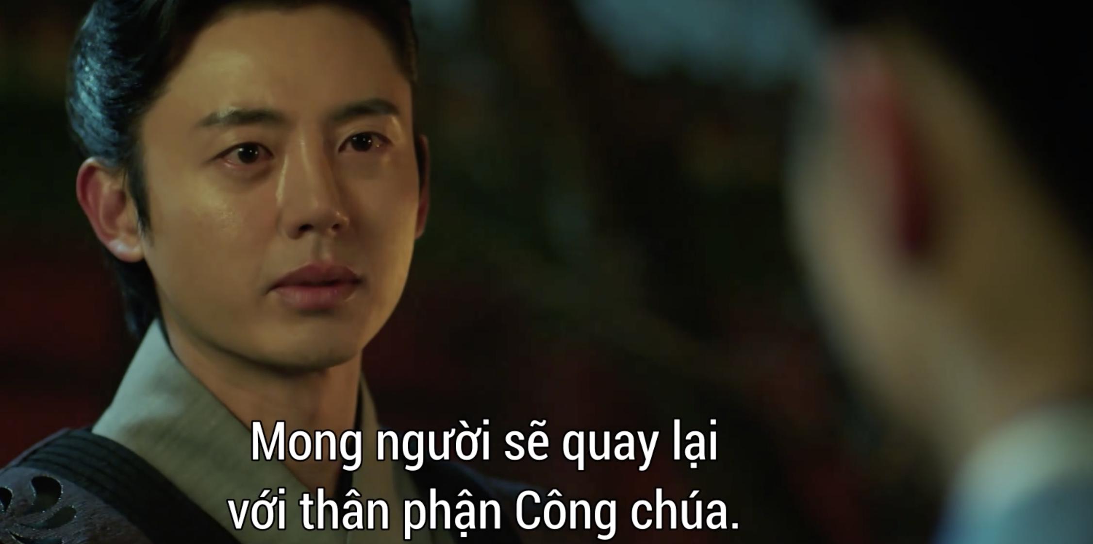 Vừa mới dẫn Kim So Hyun về ra mắt, Ji Soo phát hiện crush là kẻ gián tiếp giết cha ở Sông Đón Trăng Lên? - Ảnh 3.