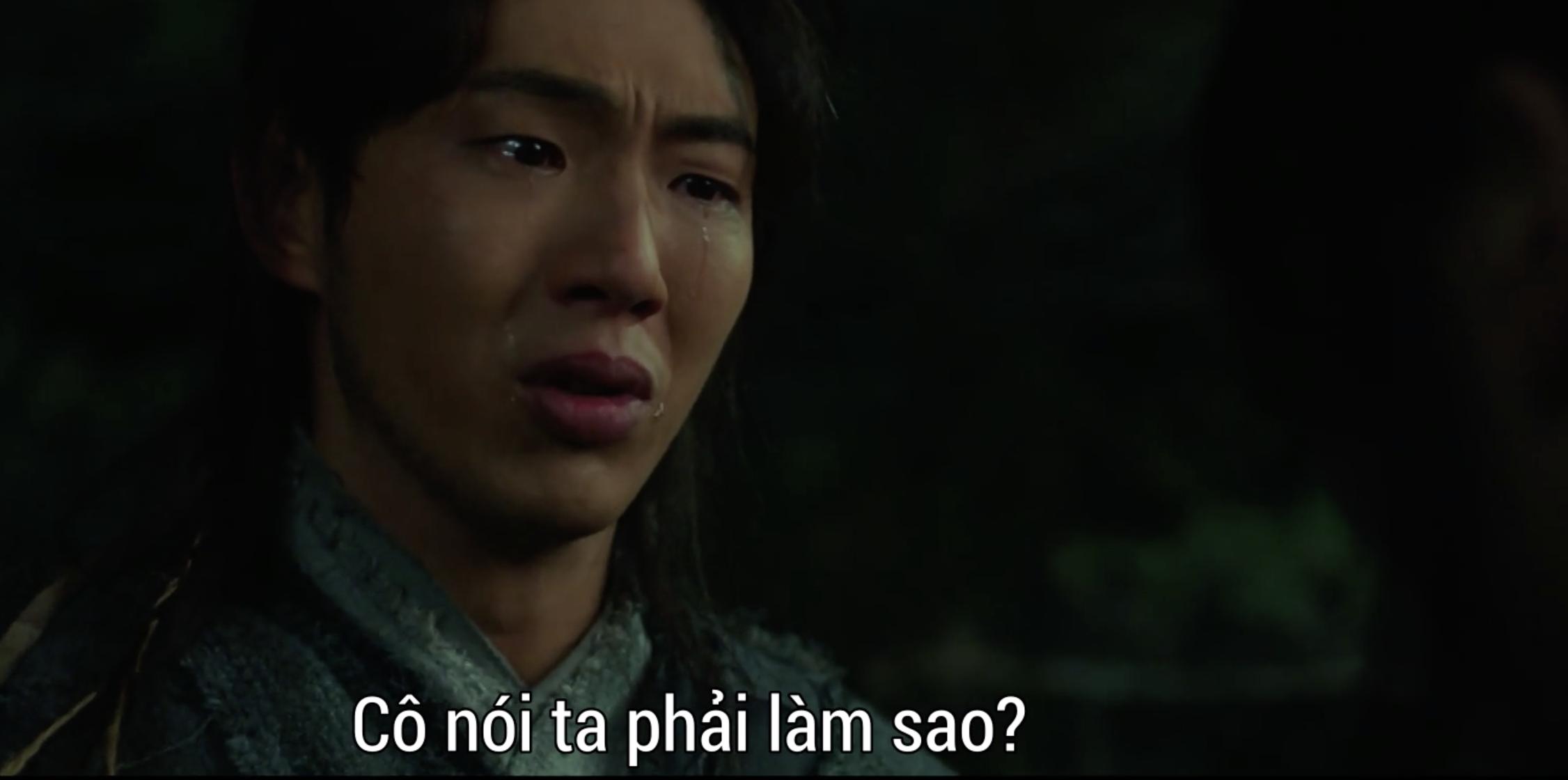 Vừa mới dẫn Kim So Hyun về ra mắt, Ji Soo phát hiện crush là kẻ gián tiếp giết cha ở Sông Đón Trăng Lên? - Ảnh 10.
