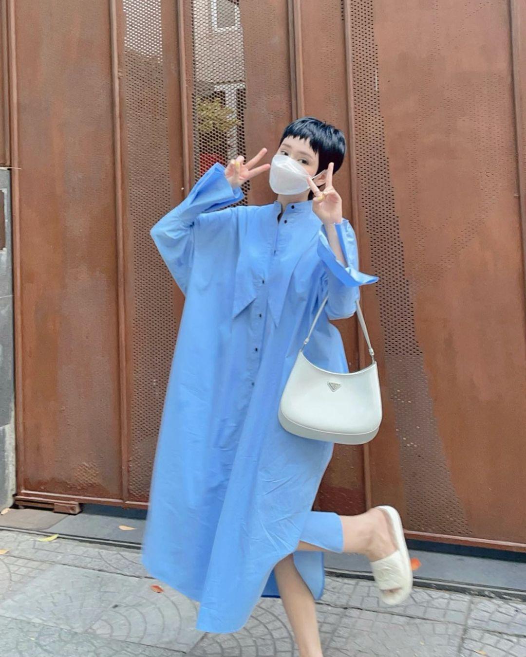 Instagram look sao Việt: Minh Hằng xinh ngút ngàn với váy local brand, Tóc Tiên lên đồ sành điệu - Ảnh 7.