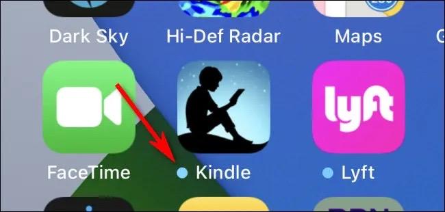 Dấu chấm xanh dương thường thấy trên Home Screen của iPhone và iPad có ý nghĩa gì? - ảnh 1