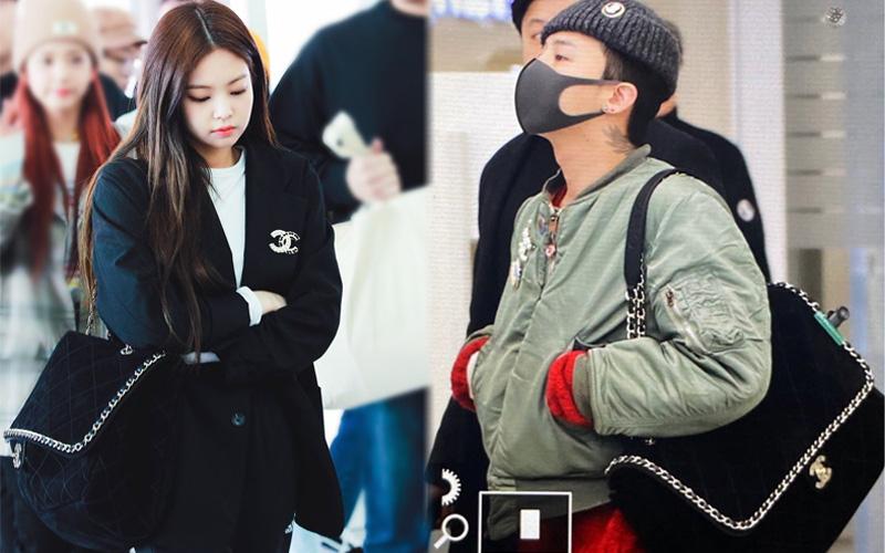 """Style sân bay cùng """"hệ Chanel"""" của G-Dragon và Jennie khiến netizen nhìn mà sướng cả mắt"""