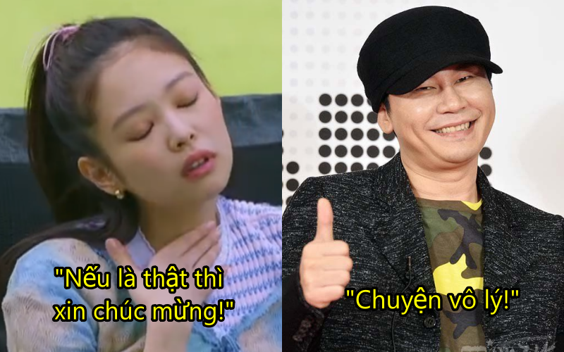 """Đáp trả tin hẹn hò """"mặn"""" như YG Entertainment: Lươn lẹo đủ kiểu, trả lời nước đôi hoặc bí quá thì nhờ thông gia xác nhận hộ"""