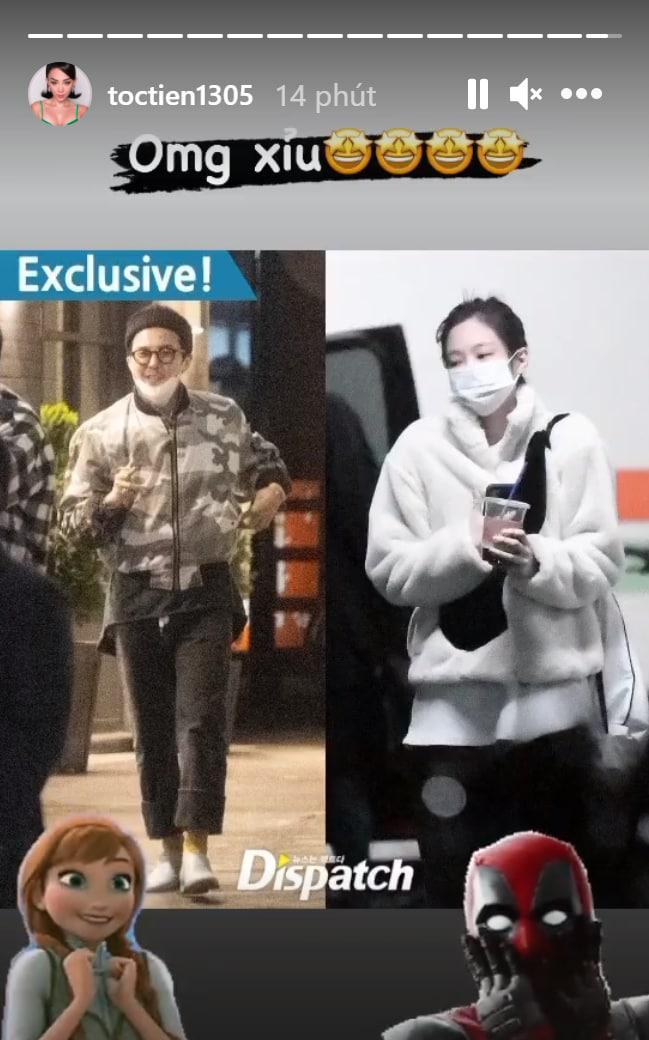 """Sao Vbiz rần rần vì tin G-Dragon (BIGBANG) hẹn hò: Huyền My - Tóc Tiên """"xỉu ngang xỉu dọc"""", Diệu Nhi được gọi tên vì lý do này? - ảnh 2"""