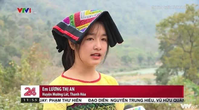 Gái xinh vùng cao xuất hiện trong bản tin thời sự khiến netizen phục êkip chương trình: Chọn khéo thật! - ảnh 2