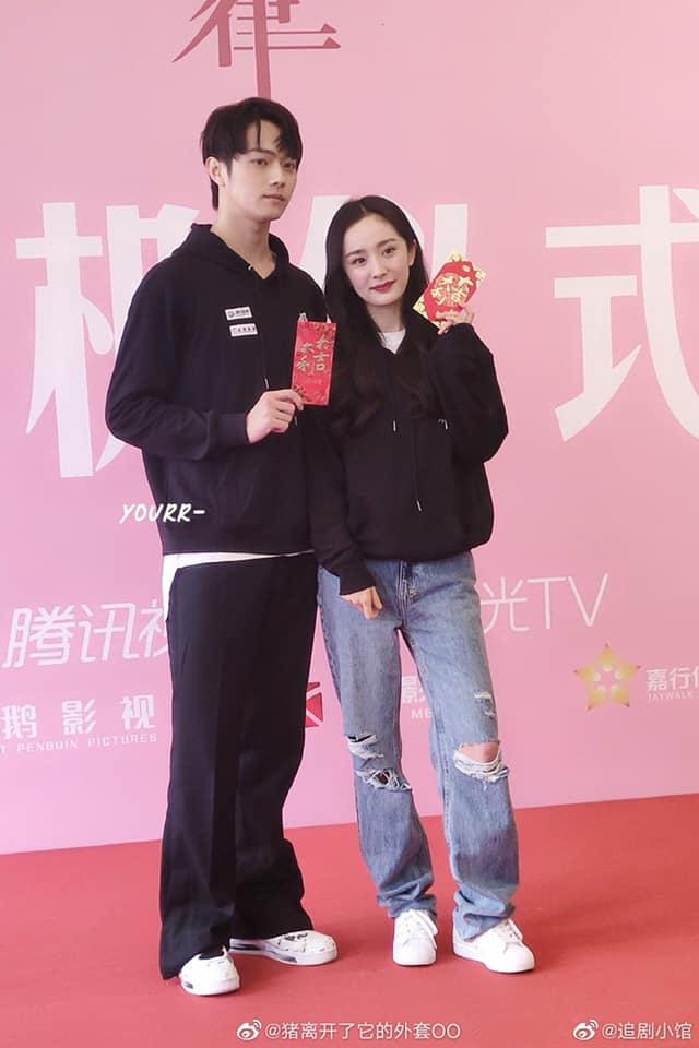 Dương Mịch bị netizen chê bai vì lệch tông với Hứa Khải ở poster phim mới đậm mùi teenfic - ảnh 3