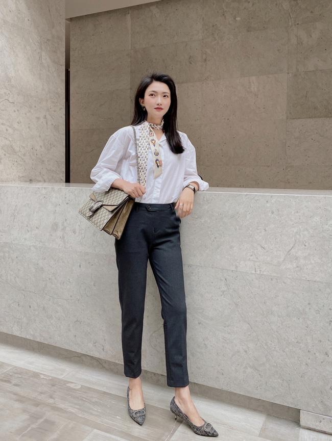 Street style Châu Á: Nhiều màu sắc xuống phố nhưng bất ngờ nhất là màn khoe eo mỏng dính của cô nàng váy cam - ảnh 1