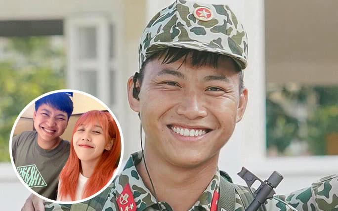 """Mũi trưởng Long đăng ảnh sinh nhật 27 tuổi, Hậu Hoàng xuất hiện trong phút mốt: """"Chúc đồng chí sẽ có được tôi"""""""
