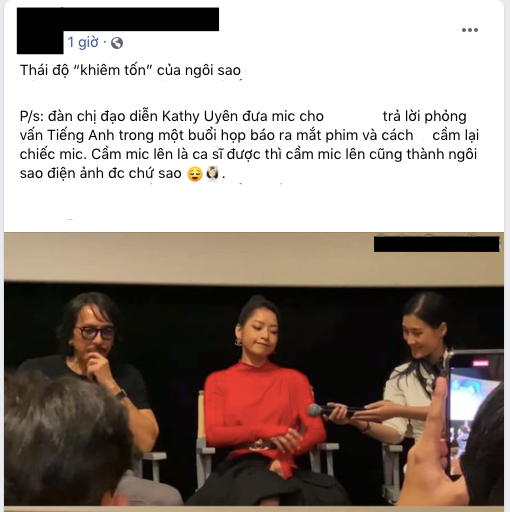 Dân mạng tranh cãi khoảnh khắc Chi Pu nhận mic bằng 1 tay, thiếu tôn trọng đàn chị Kathy Uyên? - ảnh 3