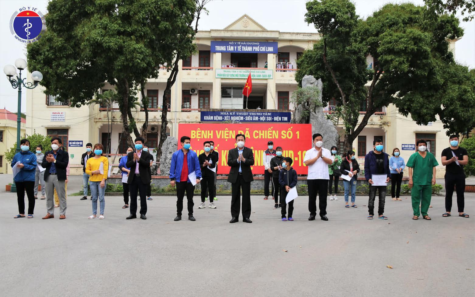 Hải Dương giải thể Bệnh viện Dã chiến số 1, hoàn thành sứ mệnh lịch sử!