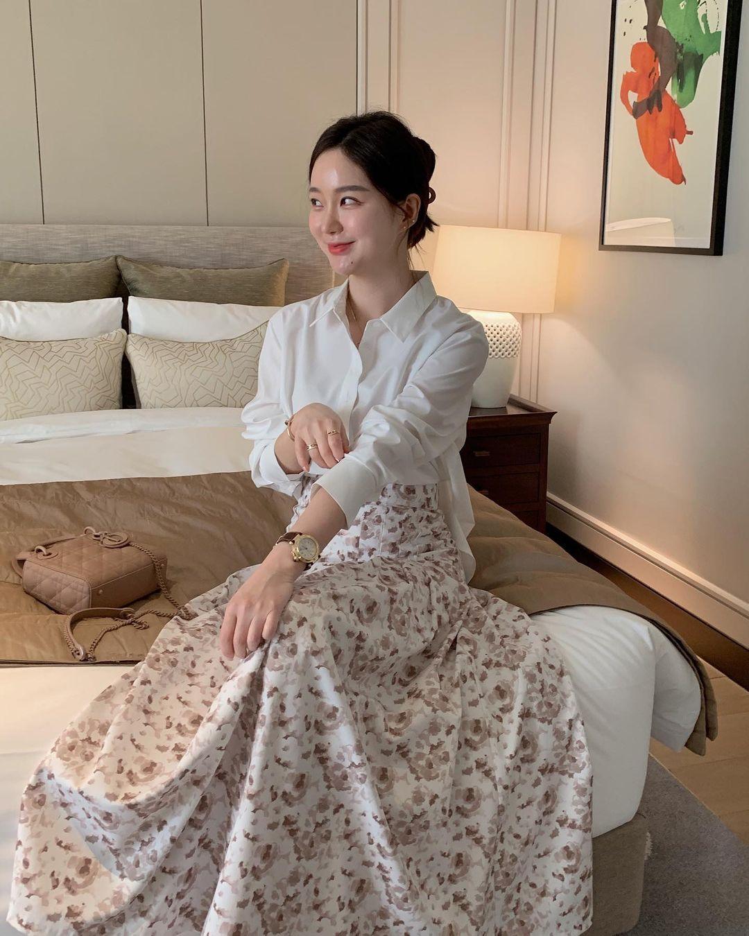 Diện váy theo những công thức chuẩn Hàn này là suốt mấy ngày Tết bạn sẽ đều có outfit đẹp để du Xuân - Ảnh 11.