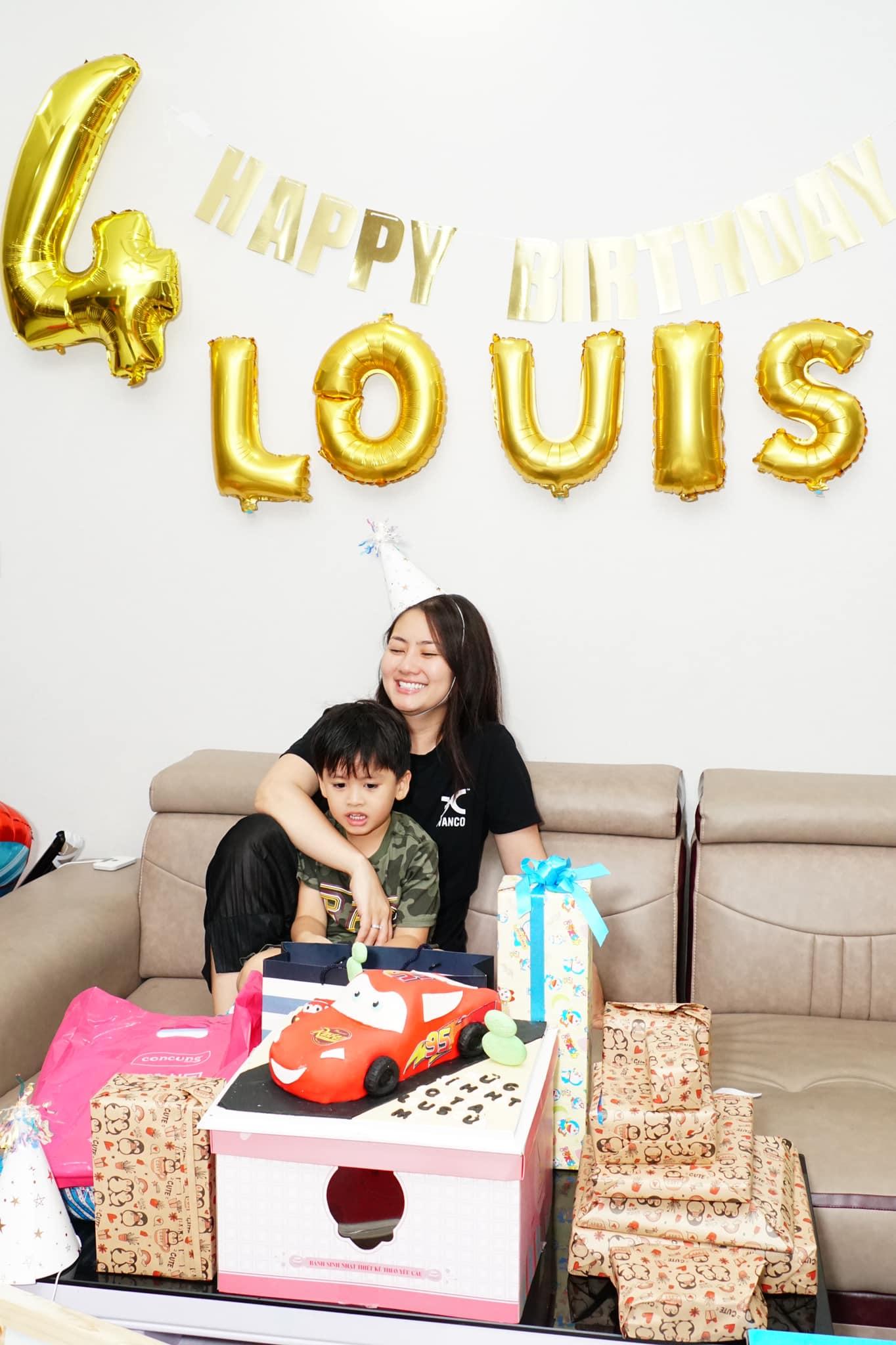 Ngọc Lan kỳ quặc tổ chức sinh nhật cho bé, Thanh Bình vắng mặt nhưng lại có hành động đặc biệt dành cho bé - Ảnh 4.